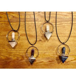 Pyramid Point Pendulum Necklace