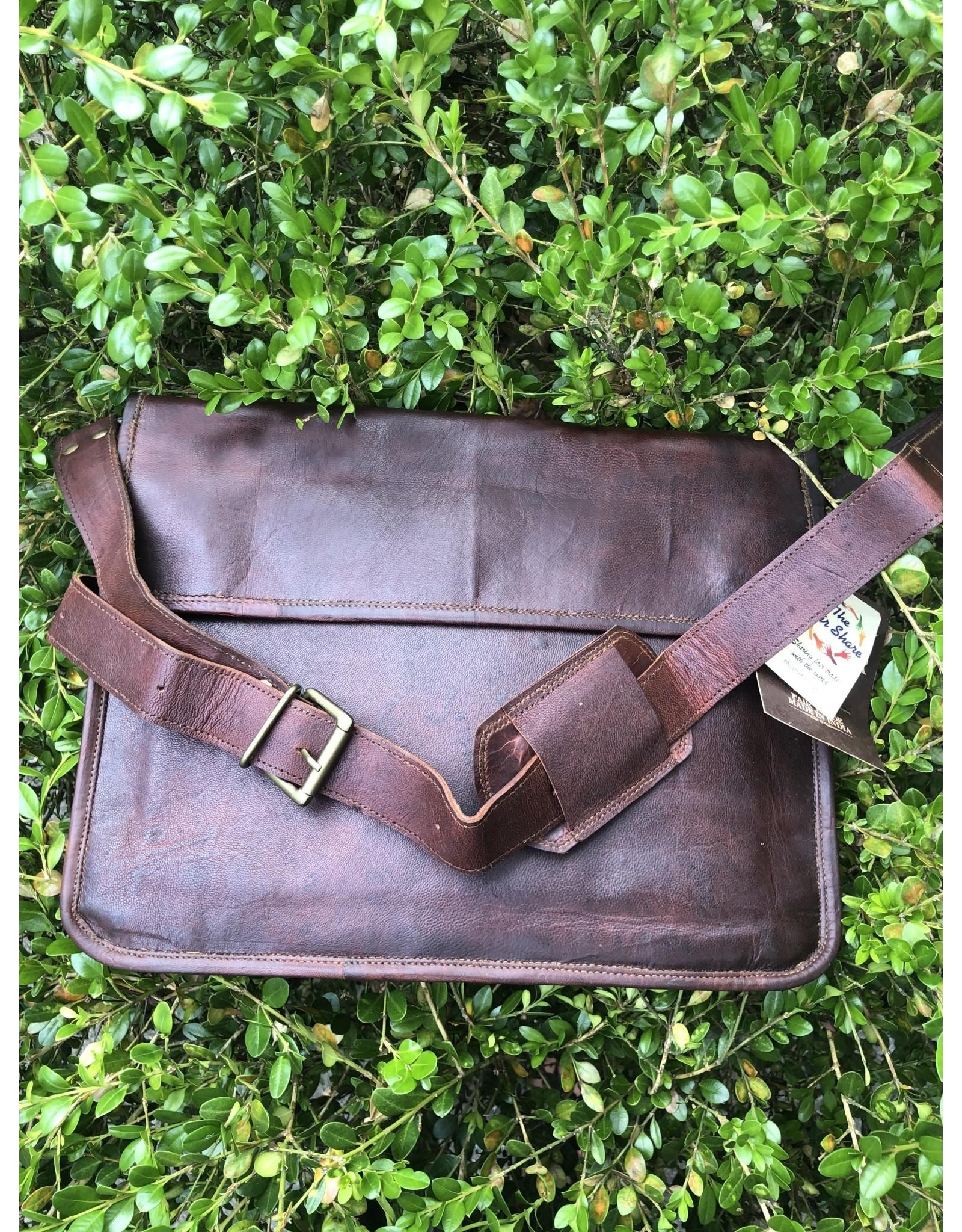 Handmade Fair Trade Leather Bags
