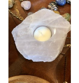 Quartz Candle Holder