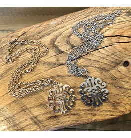 Filigree Toggle Necklace