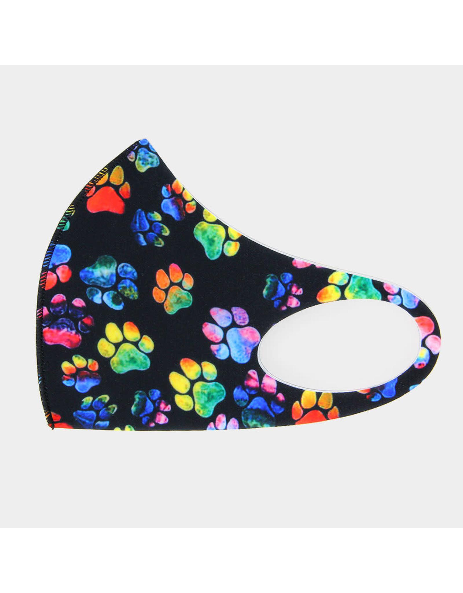 Paw Print Mask