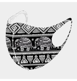 Black Elephant Mask