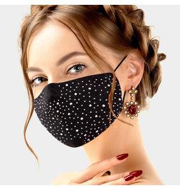 Rhinestone Studded Masks