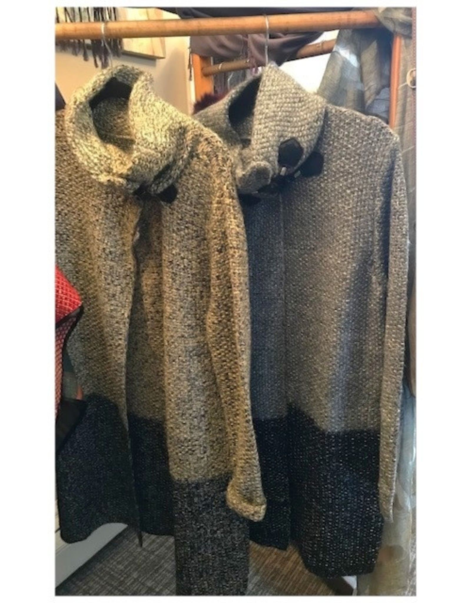 Simply Couture Grey Toggle Coat