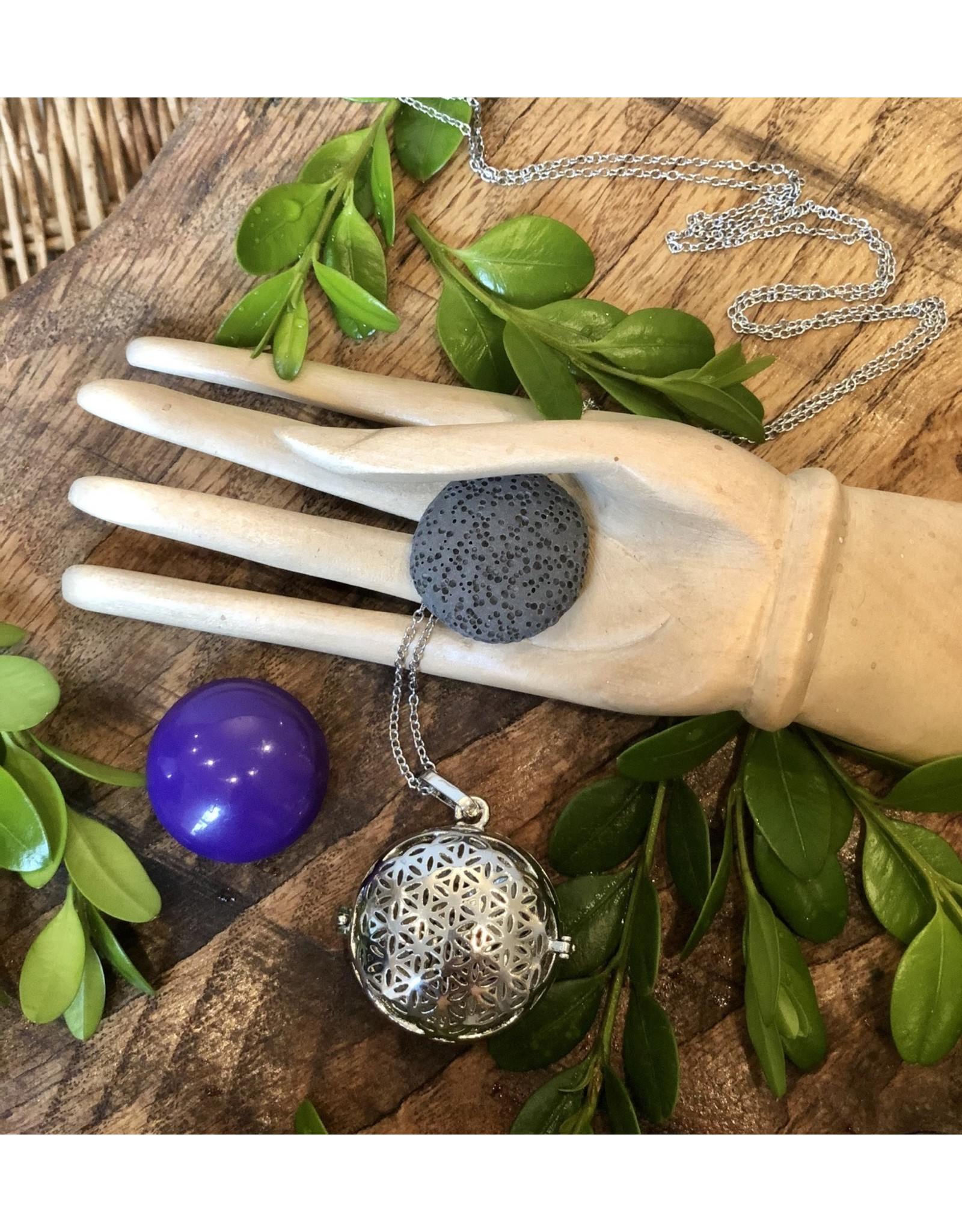 Aromatherapy Ball Necklace