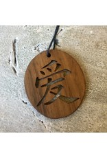 Wood Japanese Carving Ornament