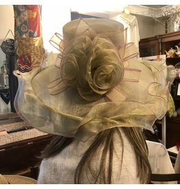 Iridescent Organza Hat