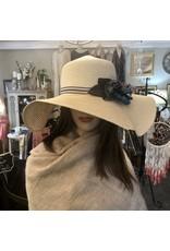 Two Tone Straw Hat