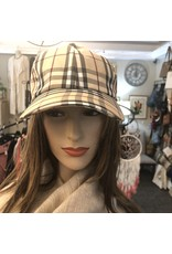 Burberry plaid baseball cap