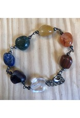 Gemstone Beaded Bracelet