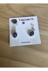 Healing Gemstone Sterling Silver Earrings