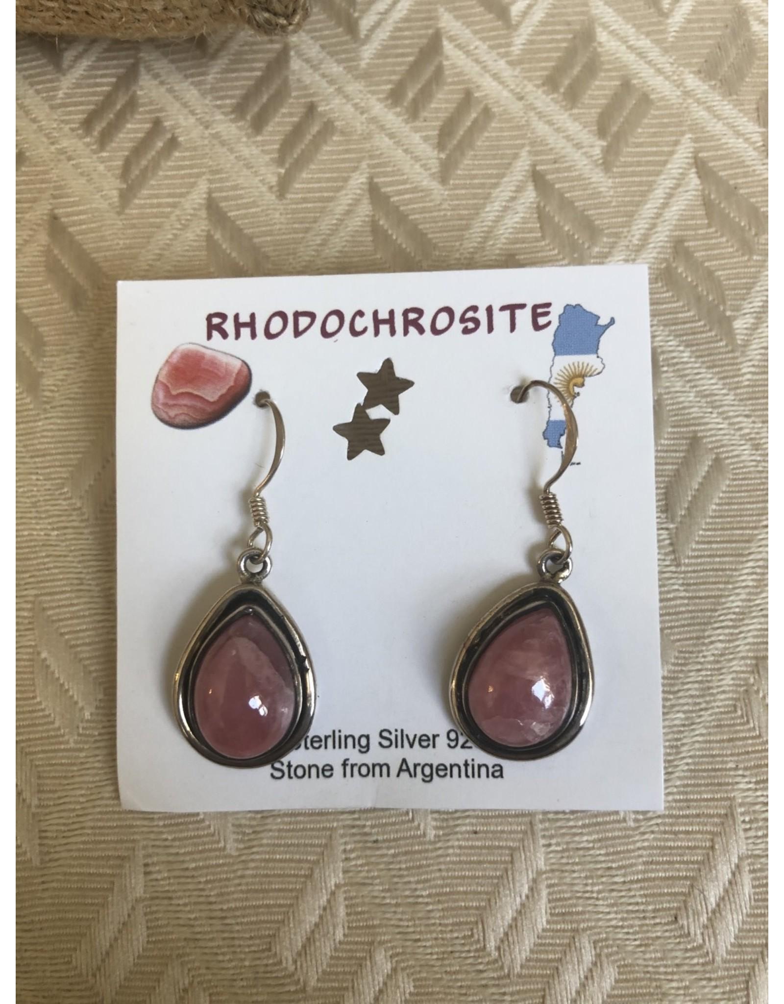 Gemstone Sterling Silver Earrings
