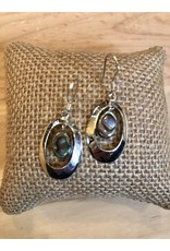 Abalone Sterling Silver Earrings