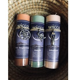 Wicca Intention Candle