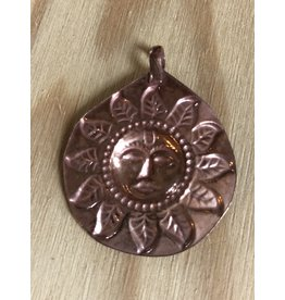 Copper Sun Amulet