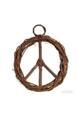 Grapevine Peace Wreath