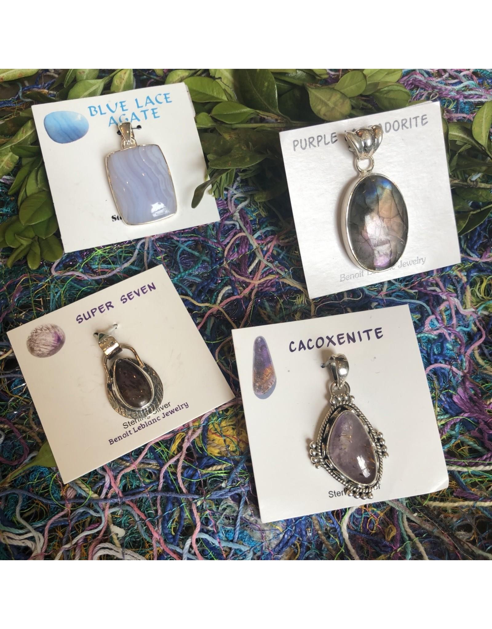 Sterling Silver Gemstone Pendants