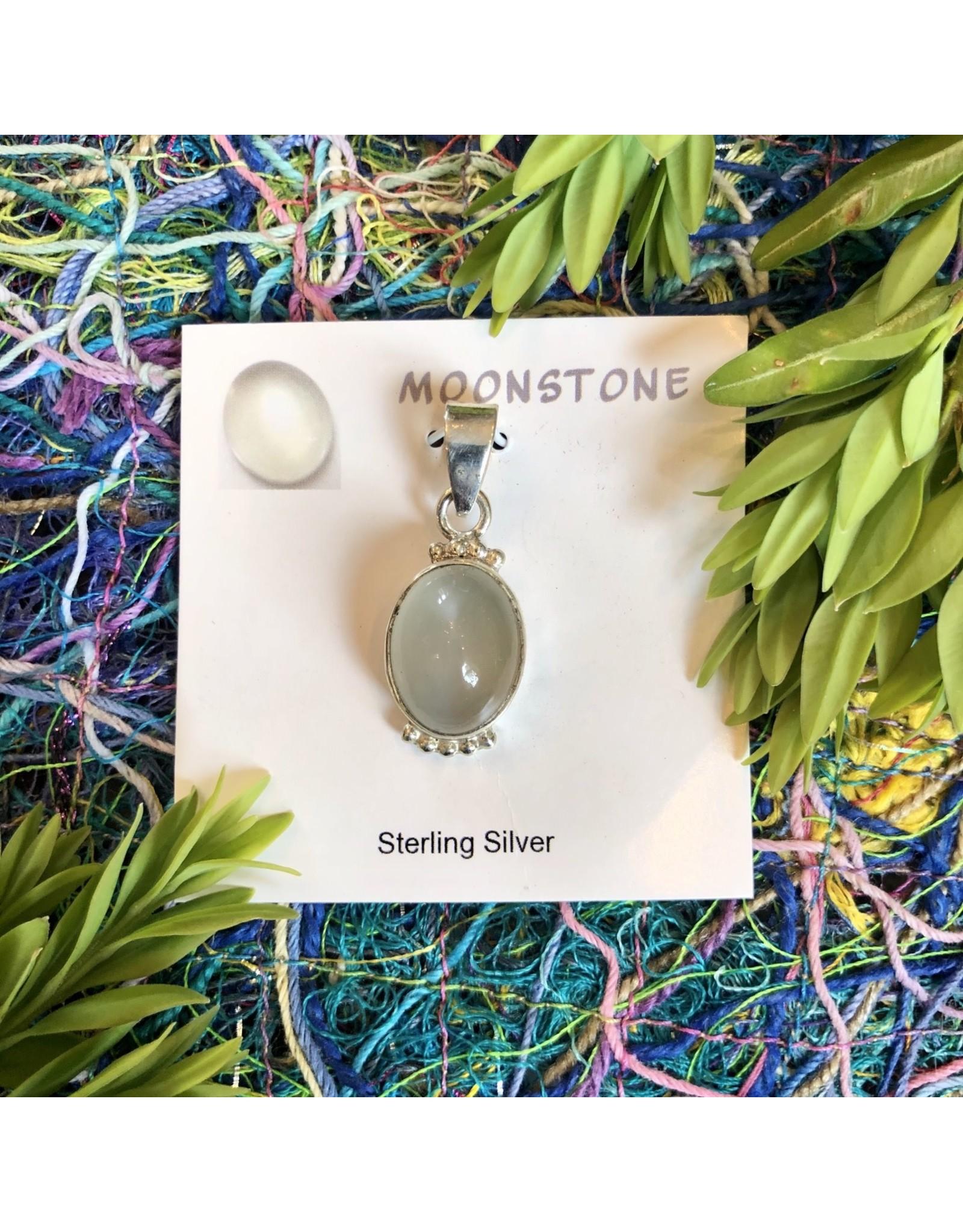 Sterling Silver Gemstone Pendant 29.99