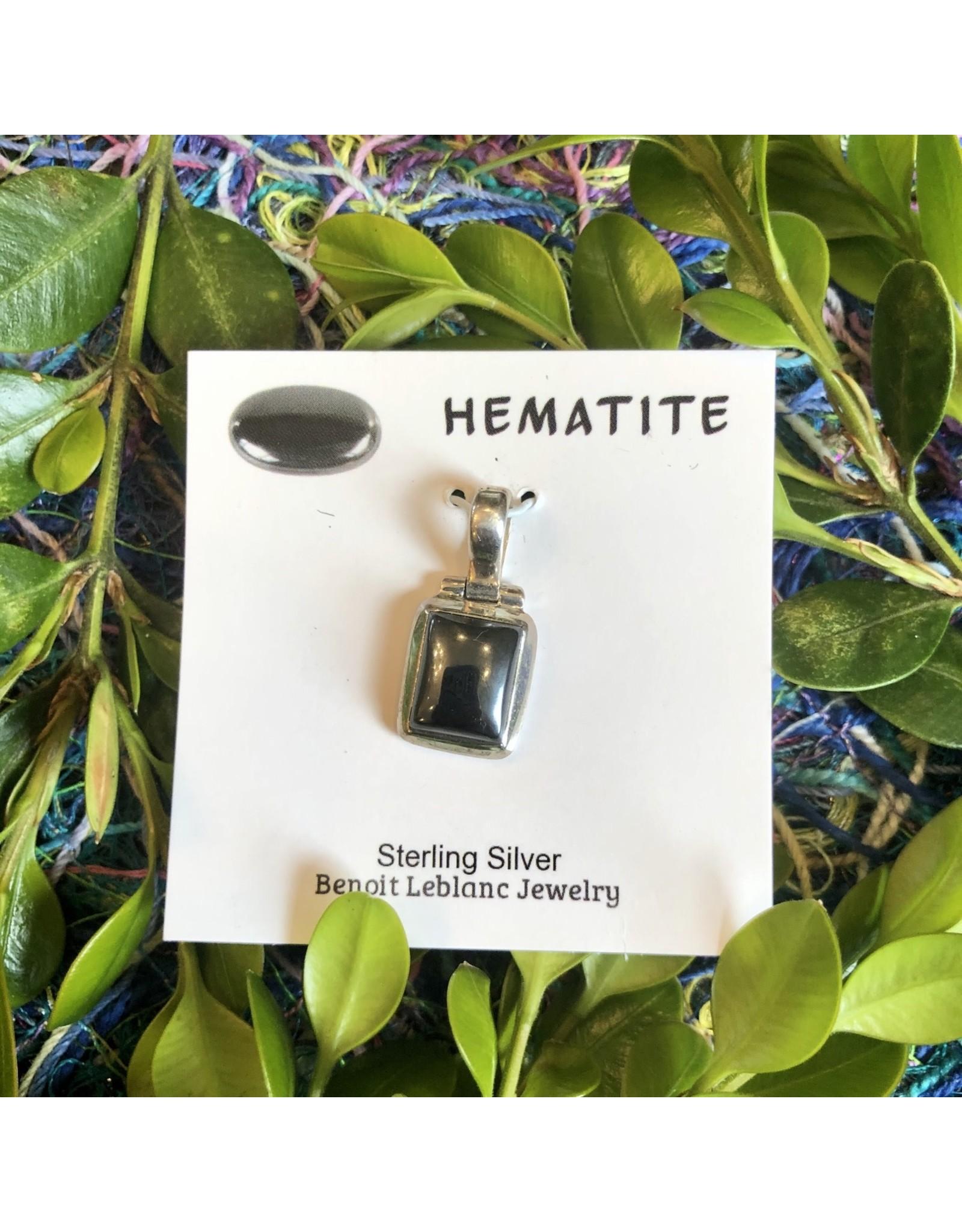 Sterling Gemstone Pendant