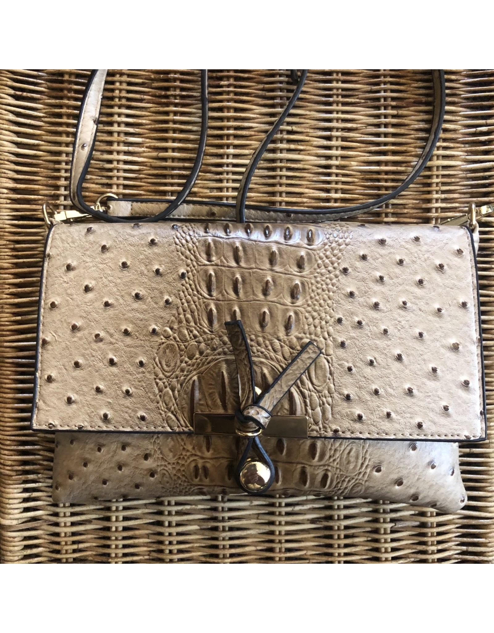 Ostrich Leather Bag