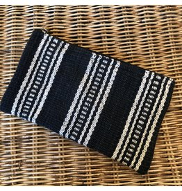 Tribal Black and Cream Clutch