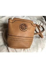 Vegan Leather Crossbody Bag