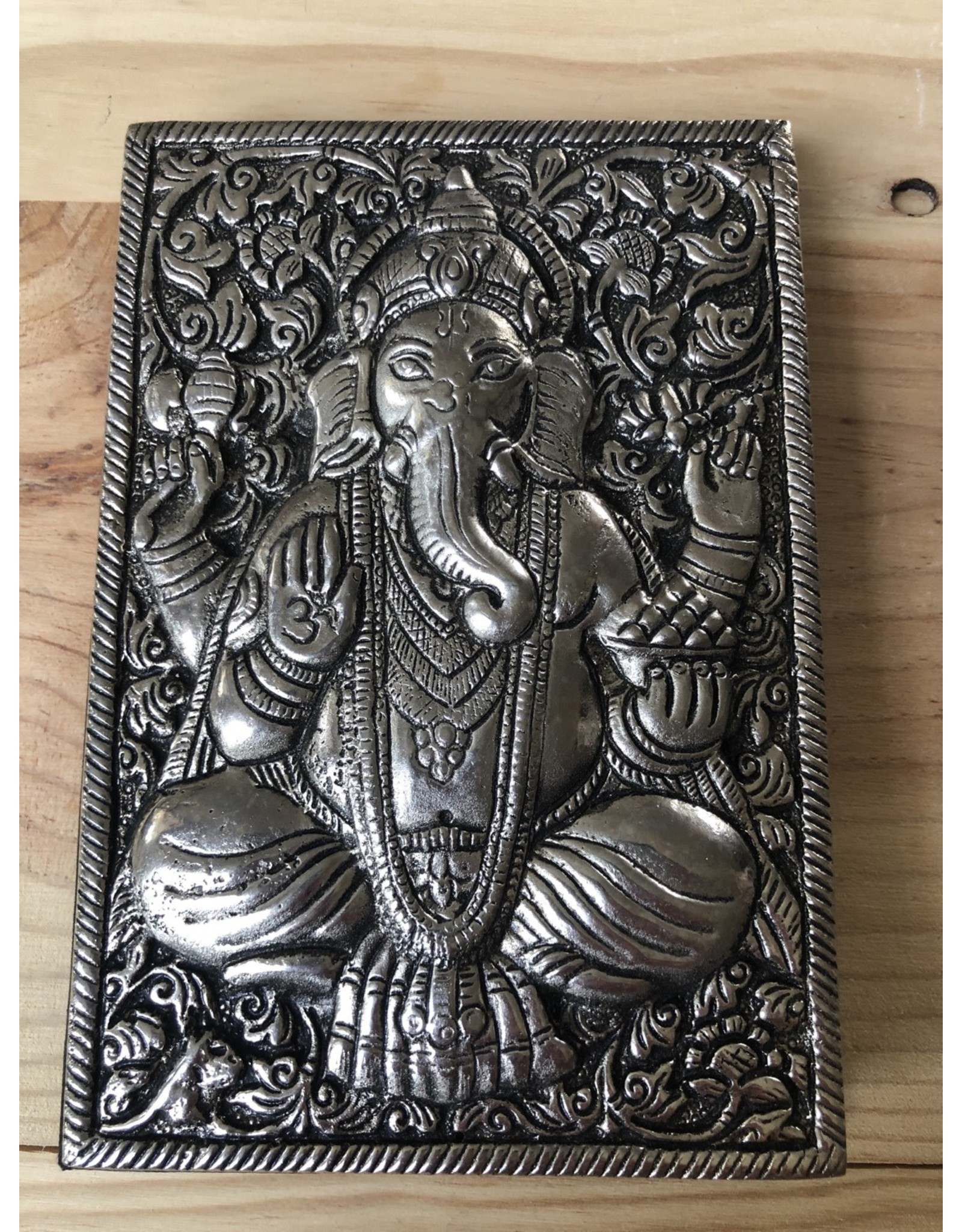 Metal Hand-Embossed Journal