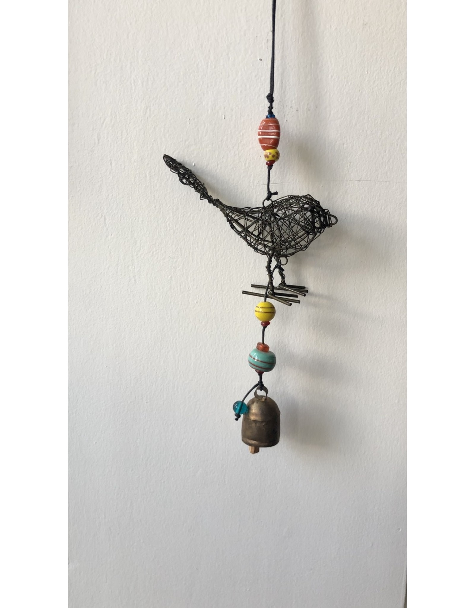 Wire Bird Wind Chime