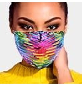 Rainbow  Sequined Masks