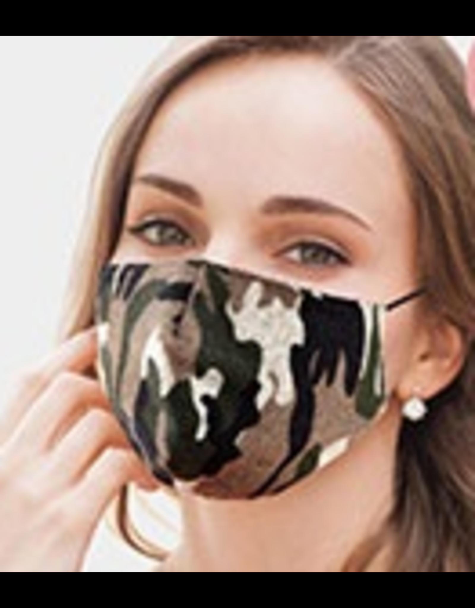 Cotton Camo Masks