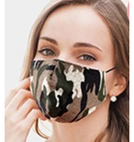 Cotton Camo Masks