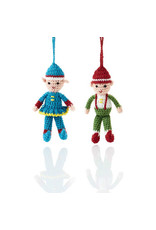 Hand Crocheted Elves
