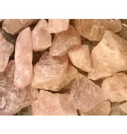 Rose Quartz Rough Cut