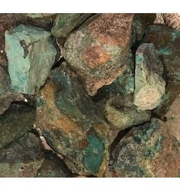 Chrysocolla Rough Cut