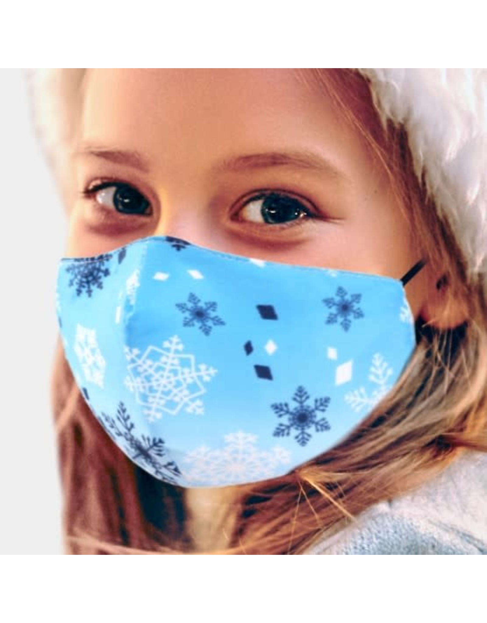 Child Size Snowflake Mask