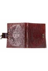 Sun/Moon Leather Journal