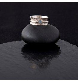 Moonstone Handmade Spin Ring