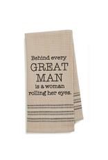 Mona B Waffle Weave Cotton Dish Towel