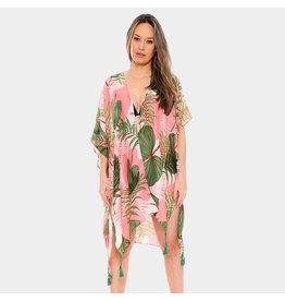 Tropical Peach Kimono