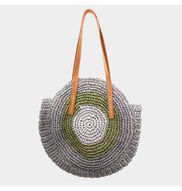 Woven Raffia Bag