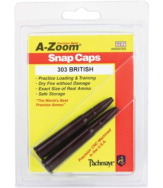 A-ZOOM A-ZOOM SNAP CAP (2-PACK) - .303 BRITISH