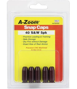 A-ZOOM A-ZOOM SNAP CAPS - .40 S&W