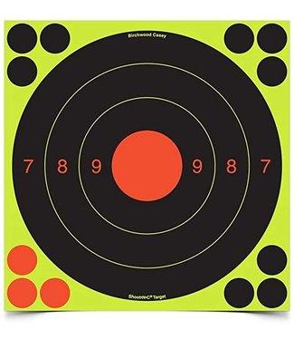 BIRCHWOOD CASEY BIRCHWOOD CASEY SHOOT-N-C SELF-ADHESIVE 20/50 METER 20CM TARGETS (6-PACK)