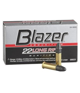 BLAZER BLAZER .22 LR - 40GR (50 CARTRIDGES)