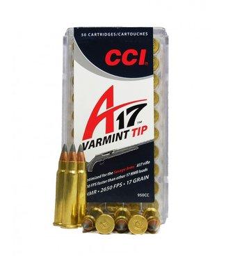 CCI CCI .17 HMR - 17GR - A17 VARMINT TIP - VARMINT (50 CARTRIDGES)