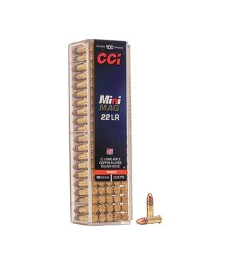 CCI CCI .22 LR - 40GR (CPRN) - MINI MAG - TARGET (100 CARTRIDGES)