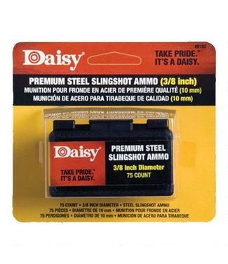 "DAISY DAISY PREMIUM 3/8"" STEEL SLINGSHOT AMMO (70-COUNT)"