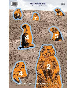 DO ALL OUTDOORS DO ALL OUTDOORS PAPER TARGET - PRAIRIE DOG