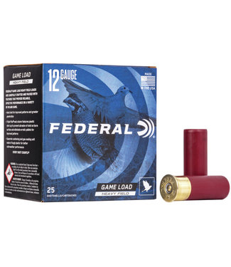 "FEDERAL FEDERAL 12-GAUGE - 2.75"" - #6 SHOT - SPEED-SHOK - HEAVY FIELD LOAD (25 SHOTSHELLS)"