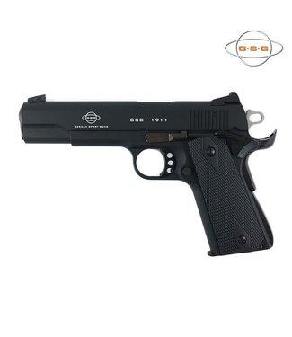 "GERMAN SPORTS GUN (GSG) GERMAN SPORTS GUN (GSG) GSG 1911 STANDARD BLACK SEMI-AUTO PISTOL (10-ROUND) - .22 LR - 5"" BARREL"